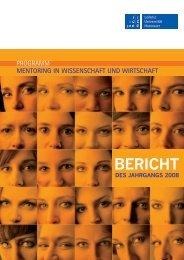 Abschlussbericht 2008 - Gleichstellungsbüro der Leibniz Universität ...