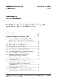 Deutscher Bundestag 18/10800 Unterrichtung