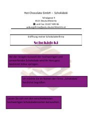 Hot Chocolate GmbH pdf
