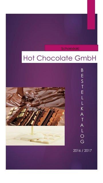 Hot Chocolate GmbH Katalog