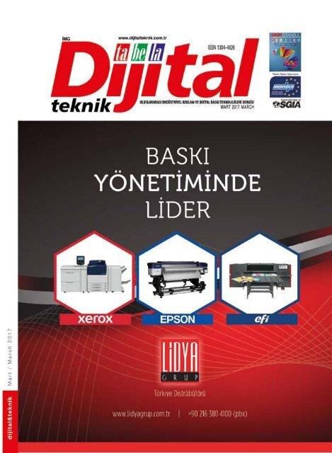Dijital Teknik Dergisi Mart 2017 Sayısı