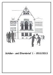 Schüler- und Elternbrief 1 – 2012/2013 - Max-Planck-Gymnasium Trier