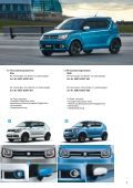 Suzuki IGNIS Zubehörprospekt - Page 7