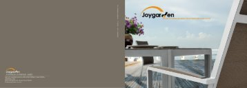 JOYGARDEN OUTDOOR CATALOGUE 2015
