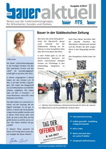 Bauer aktuell 2/2017