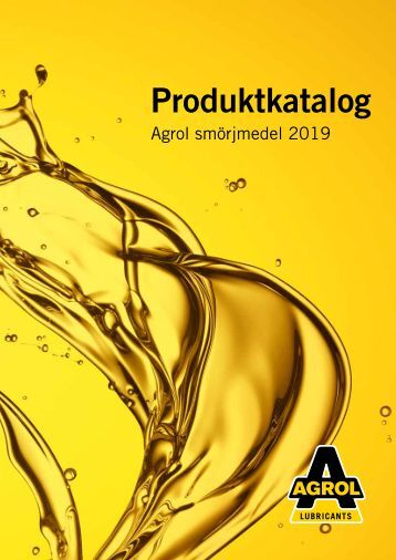 Agrol Produktkatalog 2017