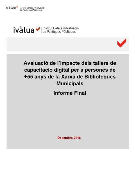 Municipals Informe Final
