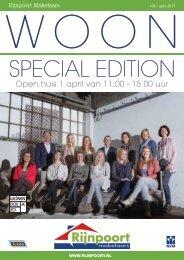 Rijnpoort Makelaars WOON magazine #34, uitgave april 2017