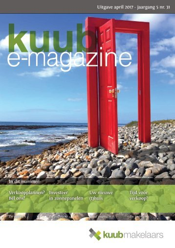 Kuub E-magazine, jaargang 5, #31, april 2017