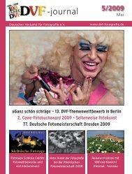 13. DVF-Themenwettbewerb in Berlin 2. Cewe-Fotobuchaward 2009