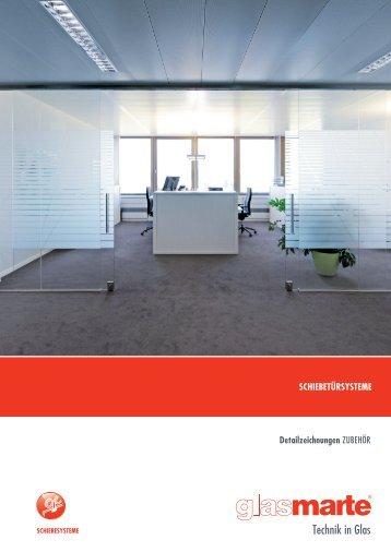 GM Schiebtuersysteme Zubehör - Detailzeichnungen
