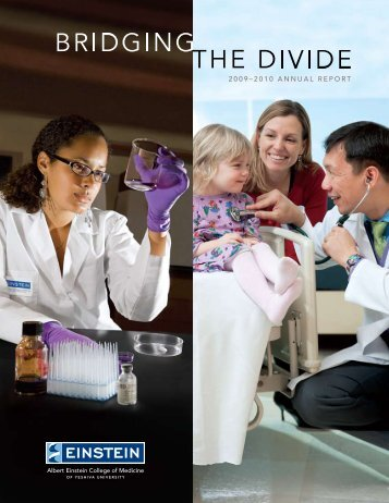 2009–2010 AnnuAl REpoRt - Albert Einstein College of Medicine ...