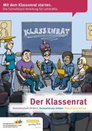 Der Klassenrat - Ganztägig Lernen - Hessen