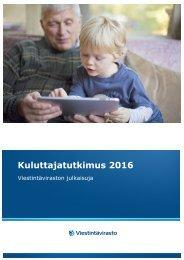 Kuluttajatutkimus 2016