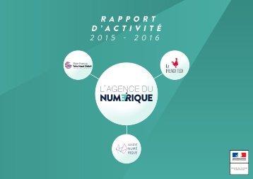 D'ACTIVITÉ 2015 - 2016