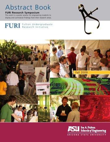 FURI Research Symposium Abstract Book - Arizona State University