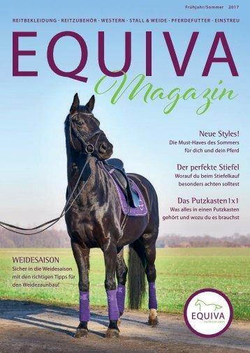 EQUIVA Magazin Frühjahr/Sommer 2017