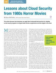 Lessons about Cloud Security from 1980s Horror Movies