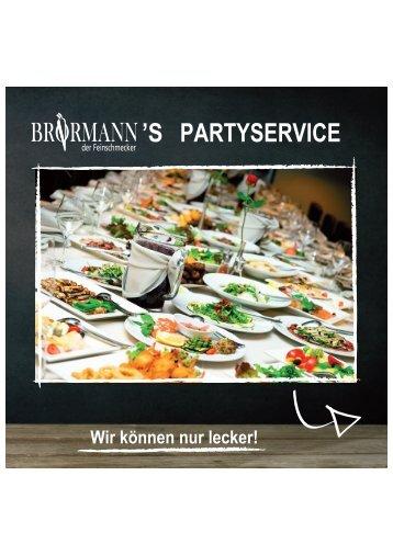 Brörmann`s Partyservice 2017