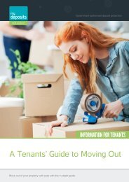 A Tenants' Guide to Moving Out