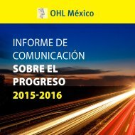 INFORME DE COMUNICACIÓN SOBRE EL PROGRESO 2015-2016