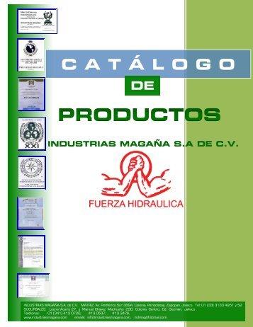 CatálogoPrincipal (Modificación 16 FEBRERO 2017) PARTE1