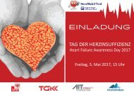 Einladung - Tag der Herzinsuffizienz 2017