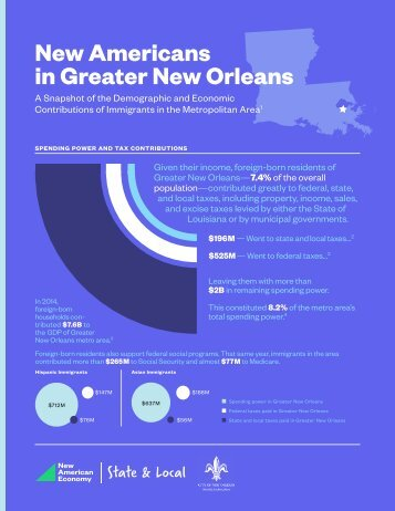New Americans in Greater New Orleans