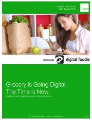 Grocery is Going Digital The Time is Now