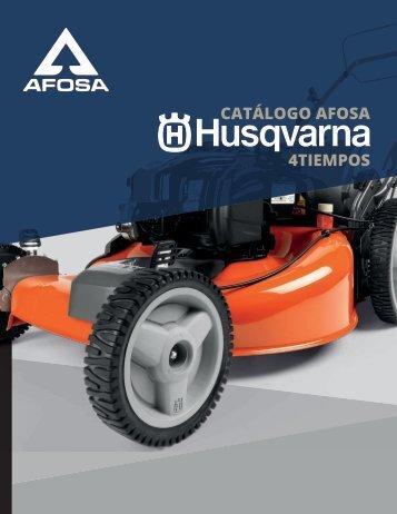 Catalogo HUSQVARNA 4 TIEMPOS .