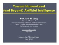 Toward Human-Level (and Beyond) Artificial Intelligence