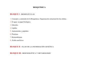 Bioquimica (celulas)