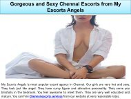 Gorgeous and Sexy Chennai Escorts from My Escorts Angels