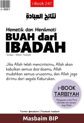 Nataijul-ibadah eBook Tarbiyah i-book