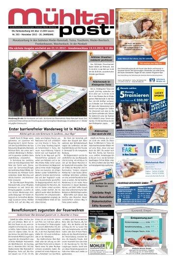 November 2012 - Mühltalpost