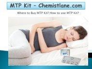 Buy MTP Kit Online | MTP Kit/Caam Kit