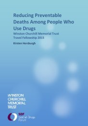 Reducing Preventable Deaths Among People Who Use Drugs