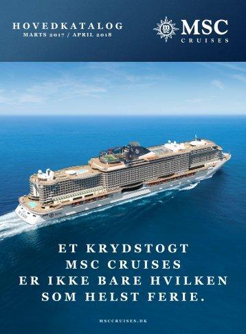 MSC Cruises hovedkatalog