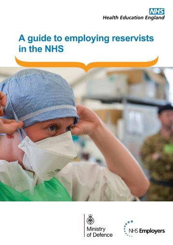 A guide to employing reservists in the NHS