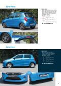 Suzuki CELERIO Zubehörprospekt - Page 5