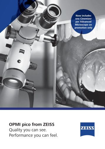 Zeiss Dental Promotion Booklet