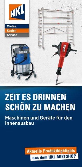 Werkzeuge Mieten Leihen Baustellenzubehor Im Shop Von Hkl