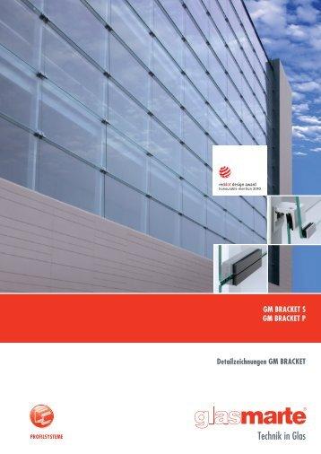 GM BRACKET, Profilsysteme - Detailzeichnungen