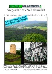 Reisereport: Siegerland - Sehenswert
