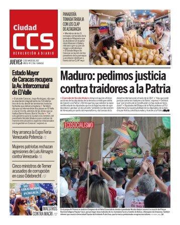 Maduro pedimos justicia contra traidores a la Patria