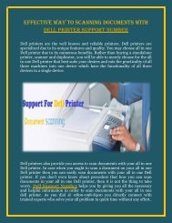Dell Printer Support for Scanning documents