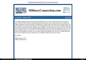One-Stop Platform for All Military Veterans Needs