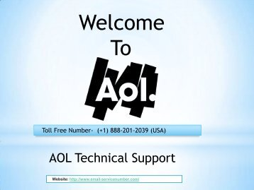 AOL phone support service @ +1-888-201-2039 USA | http://www.email-servicenumber.com