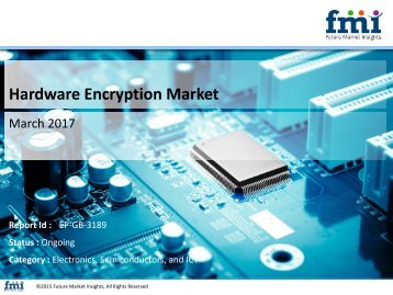 Releases New Report on the Hardware Encryption Market