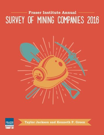 SURVEY OF MINING COMPANIES 2016
